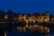 koppelpoort Amersfoort (blauwe uur)