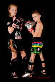 kick boxen (broer en zus)