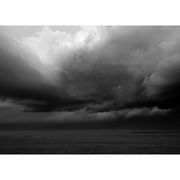 Onweer boven Noordzee