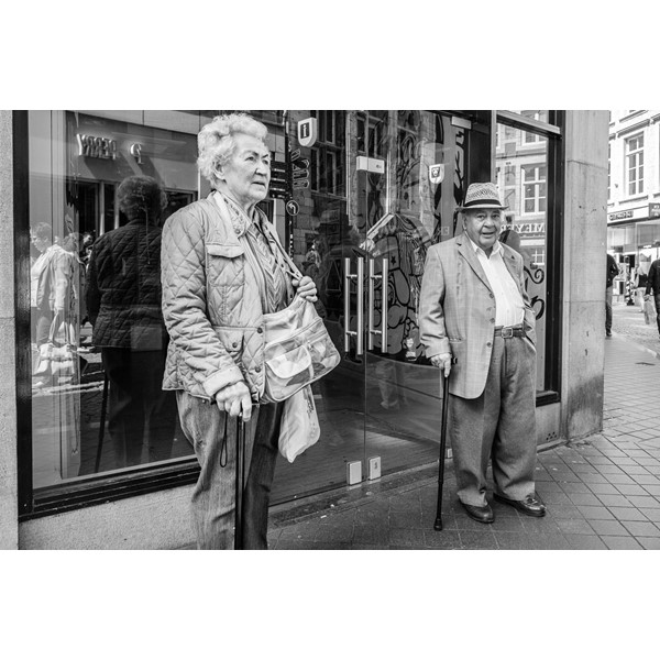 Straatfotografie, Maastricht.