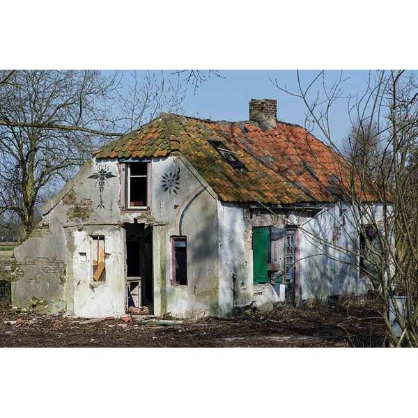 Een verlaten bouwval