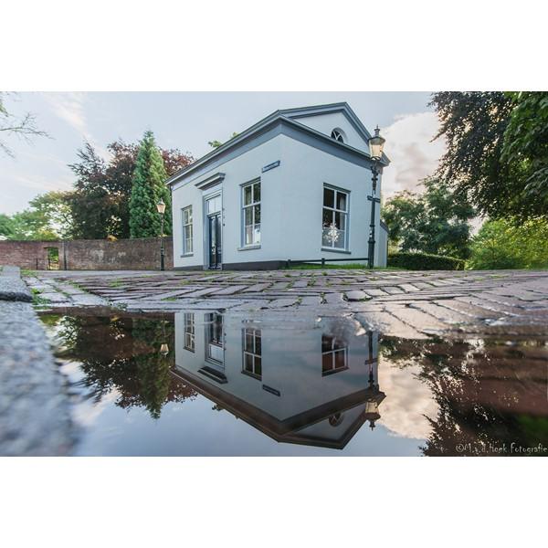 bloemendaalsestraat huisje/reflectie