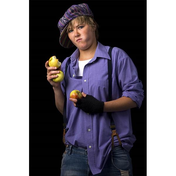 Model met appels